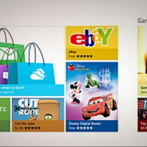 Windows Store gets previewed, ahead of February launch