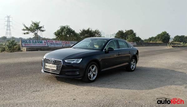 Tech inside the Audi A4