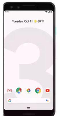गूगल पिक्सल 3 XL