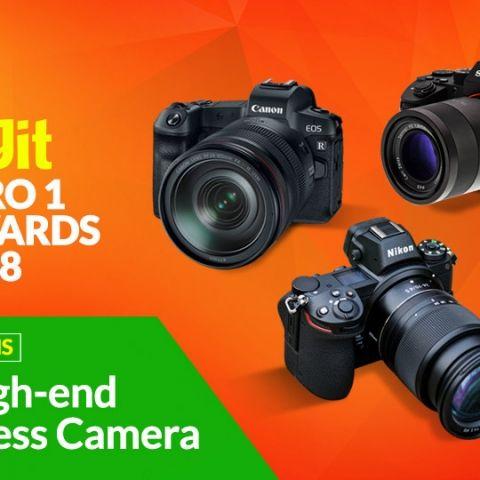 Digit Zero1 Awards 2018: Nominations for Best High End Mirrorless Cameras