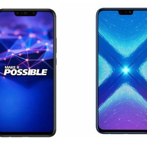 Spec comparison: Honor 8x vs Huawei Nova 3i