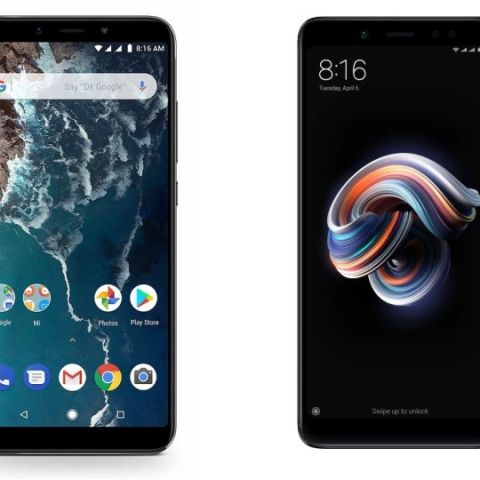 Specs comparison: Xiaomi Mi A2 vs Xiaomi Redmi Note 5 Pro