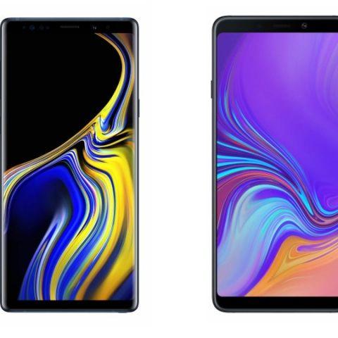 Specs comparison: Samsung Galaxy A9 vs Samsung Galaxy Note 9