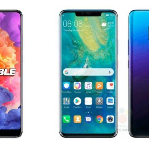 Specs comparison: Huawei Mate 20 Pro vs P20 Pro