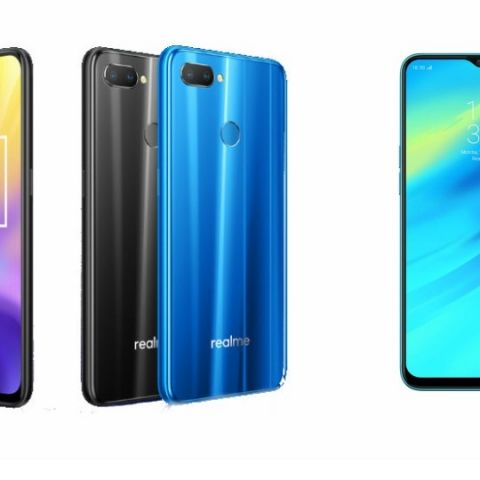 Specs comparison: RealMe U1 vs RealMe 2 Pro