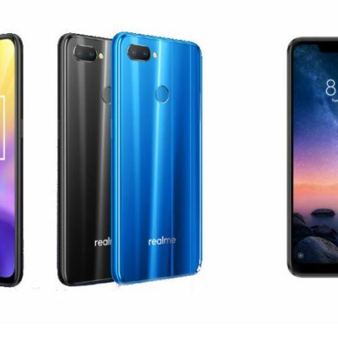Specs comparison: RealMe U1 vs Xiaomi Redmi Note 6 Pro