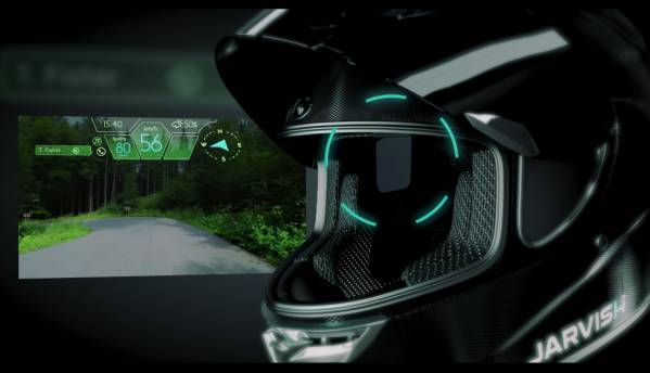 JARVISH smart helmet has everything including HUD, 360-degree cameras, and Alexa integration