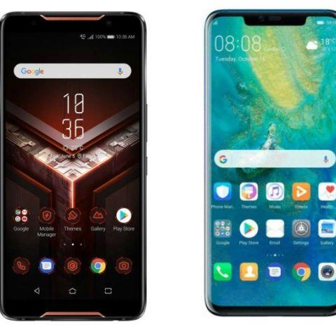 Specs comparison: Asus Rog vs Huawei Mate 20 Pro