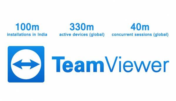 TeamViewer reveals usage stats; around 100 million installations in India