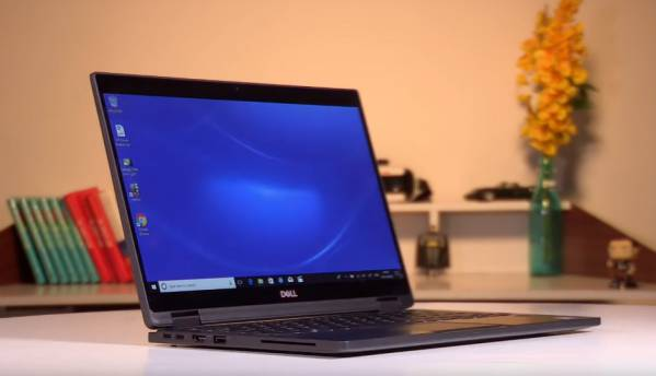 Here's a quick look at the Dell Latitude 2-in-1 7390 laptop