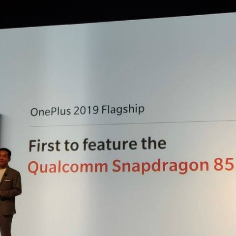 OnePlus will be one of the first to leverage Qualcomm's Snapdragon 855 to launch a 5G smartphone in 2019: CEO Pete Lau
