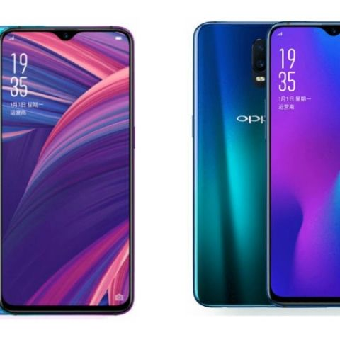 Specs comparison: Oppo R17 Pro vs Oppo R17