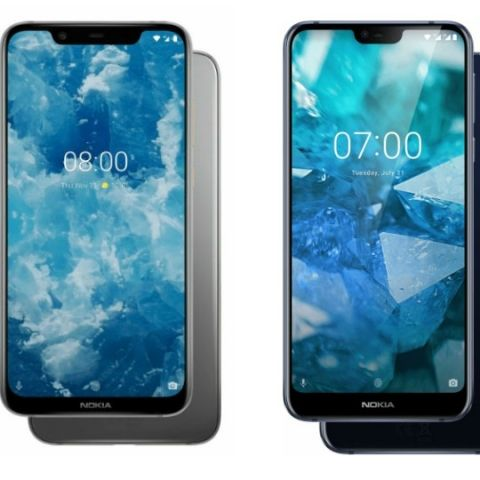 Specs comparison: Nokia 8.1 vs Nokia 7.1