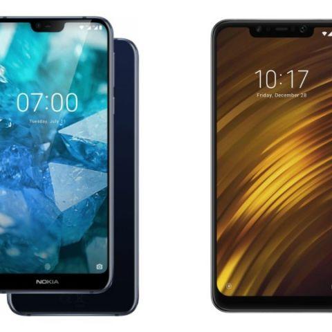 Specs comparison: Nokia 7.1 vs Poco F1