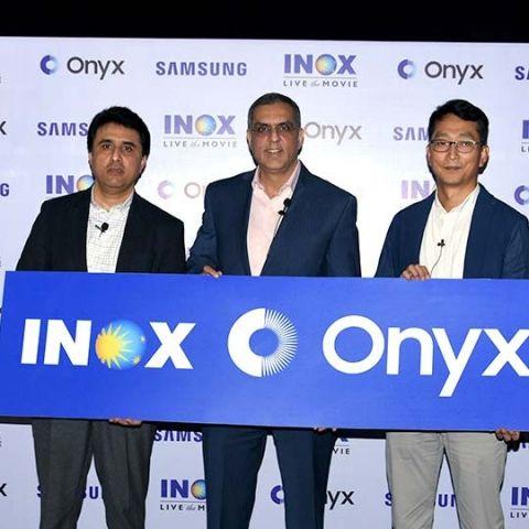 Samsung unveils Mumbai's first Onyx cinema LED screen with INOX