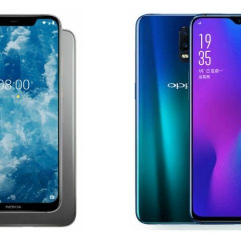 Specs comparison: Nokia 8.1 vs Oppo R17 Pro