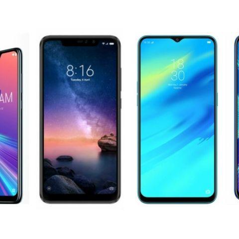 Specs comparison: Asus Zenfone Max Pro M2 vs Xiaomi Redmi Note 6 Pro vs RealMe 2 Pro vs Honor 8X