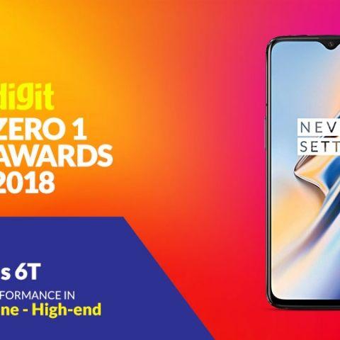 Digit Zero1 Awards 2018: Best High-end smartphone