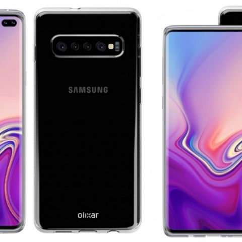 Samsung Galaxy S10 with single punch-hole camera, reverse wireless charging spotted in the wild