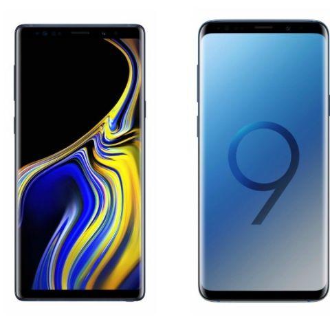 Specs comparison: Samsung Galaxy Note 9 vs Samsung Galaxy S9
