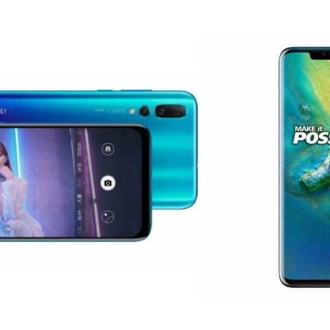 Specs comparison: Huawei Nova 4 vs Huawei Mate 20 Pro