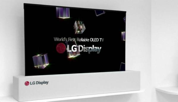 LG will sell rollable TVs in 2019: Report