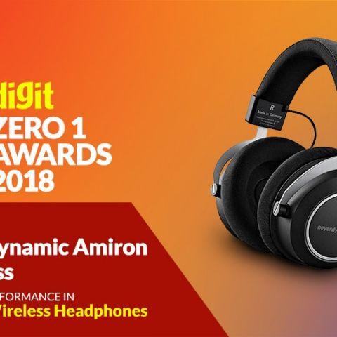 Zero1 Awards 2018 - Audio - Wireless Headphones