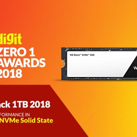 Zero1 Awards 2018 - Desktop - NVMe Solid State Drives