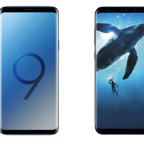 Specs comparison: Samsung Galaxy S9 vs Samsung Galaxy S8