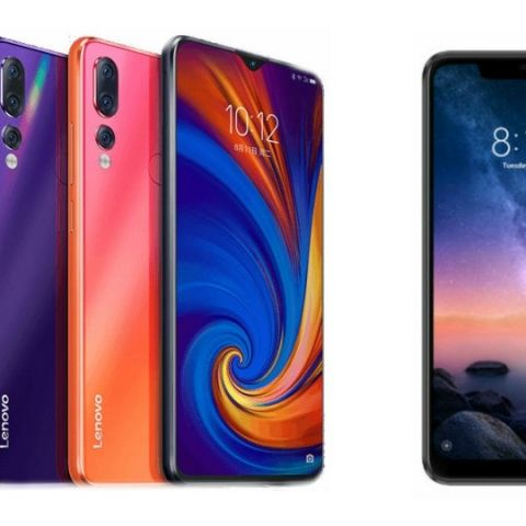 Specs comparison: Lenovo Z5s vs Xiaomi Redmi Note 6 Pro