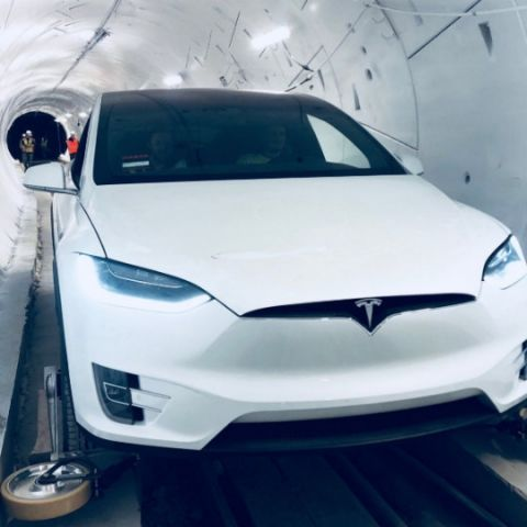 Elon Musk's Boring Company unveils $10mn high-speed tunnel to beat traffic