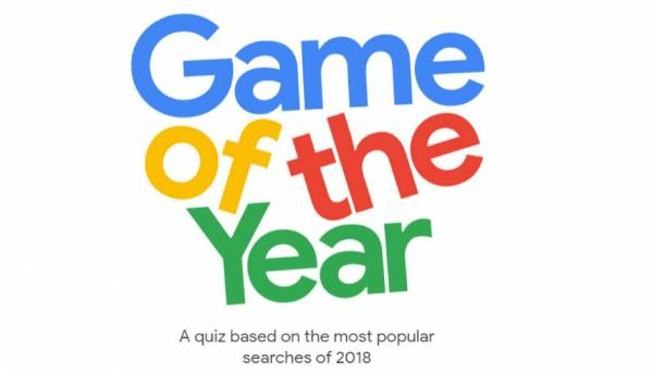 Google Game of The Year cleverly gamifies search trends of 2018