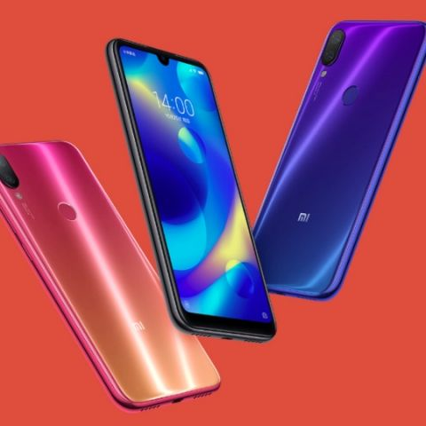 Xiaomi Mi Play with Waterdrop notch, MediaTek Helio P35 SoC launched in China
