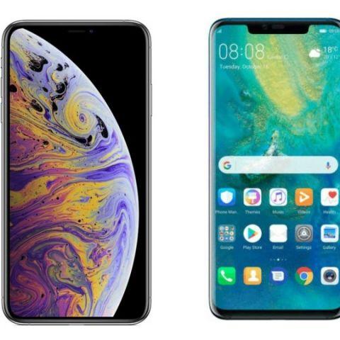 Specs comparison: iPhone XS Max vs Huawei Mate 20 Pro