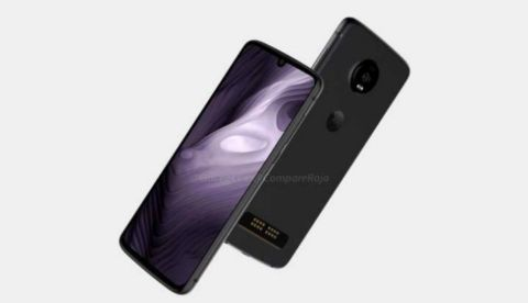 Moto Z4 Play leaked renders show display with waterdrop notch, Moto Mod support