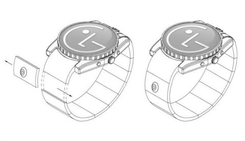 LG patents smartwatch with camera in the strap: Report