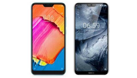 Specs comparison: Xiaomi Redmi 6 pro vs Nokia 6.1 plus