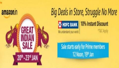 Amazon Great Indian Sale: Smartphone deals revealed so far