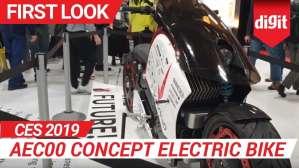 CES 2019: AEC00 Concept Electric Bike | Digit.in