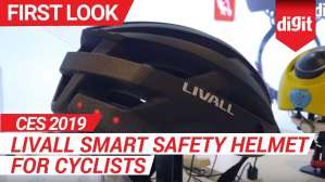 CES 2019: Livall Smart Safety Helmet for Cyclists | Digit.in