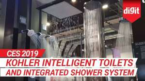 CES 2019: Kohler Intelligent Toilets and Shower Sytem | Digit.in