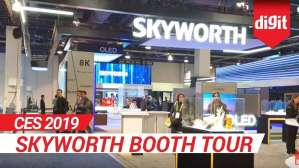 CES 2019: Skyworth Booth Tour | Digit.in