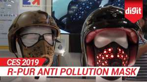 CES 2019: R Pur Anti Pollution Mask | Digit.in