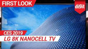 CES 2019: LG 8K Nanocell TV First Look | Digit.in