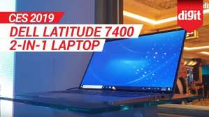 CES 2019: Dell Latitude 7400 2 in 1 Laptop First Look | Digit.in
