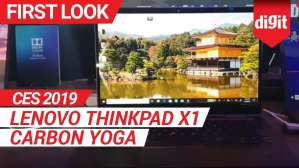 CES 2019: Lenovo ThinkPad X1 Carbon Yoga First Look | Digit.in