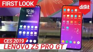 CES 2019: Lenovo Z5 Pro GT First Look | Digit.in