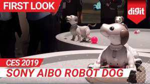 CES 2019: Sony Aibo Robot Dog | Digit.in