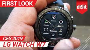 CES 2019: LG Watch W7 First Look | Digit.in