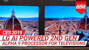 CES 2019: LG AI powered 2nd Gen Alpha 9 Processor for Televisions | Digit.in